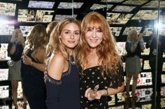 Olivia Palermo and make-up artist Charlotte Tilbury attend Charlotte Tilbury x Samsung at 837 Washington on September 10, 2016 in New York City.