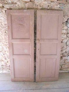 Portes de placard ancien Décoration Hérault - leboncoin.fr Decoration, Rose, Inspiration, Furniture, Home Decor, Antique Doors, Shutter, Home, Decor
