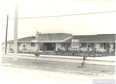 Antigua imagen de un edificio de Chetumal.