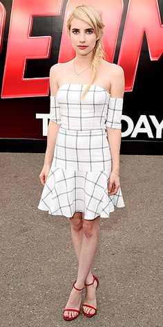 Emma Roberts in Line & Dot