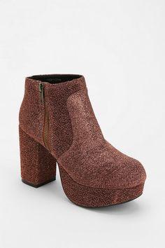 Ecote Disco Platform Ankle Boot