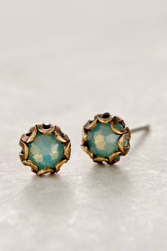 Scalloped Sea Studs #anthrofave