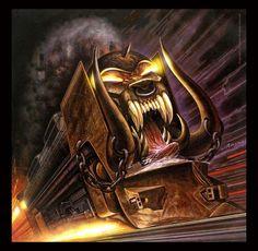 Motorhead's Orgasmatron, by Joe Petagno.