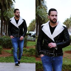 Leather jacket from http://goo.gl/HT922H Shop ere : shien.com