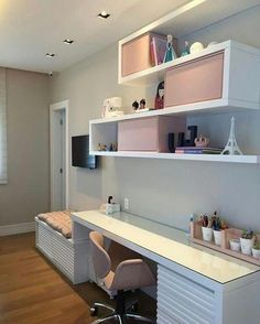 Teen Girl Bedrooms one clever and welcoming decor ideas info 9562320260 Girls Bedroom Ideas Bedrooms clever Decor Girl Ideas info stunn Teen welcoming Study Room Decor, Bedroom Interior, Bedroom Design, Home Room Design, Girls Bedroom, Girl Room, Home Decor, Girl Bedroom Decor, Room Design