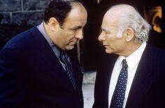 "Tony with Bobby ""Bacala"" Baccalieri, Sr. (Burt Young)"