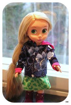 iiven ihmetykset: Disney Animator Doll - Jacket