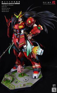 MG 1/100 Hi-Nu Gundam [Haohmaru General Gundam] - Custom Build     Modeled by justinjgc