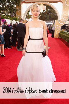 2014 Golden Globes best dressed.