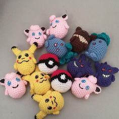They are all free crochet patterns on Ravelry. They are all free crochet patterns on Ravelry. Crochet Deer, Crochet Ball, Crochet Hook Set, All Free Crochet, Cute Crochet, Crochet For Kids, Crochet Flower, Irish Crochet, Crochet Animals