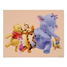 Shop Pooh & Friends 6 Mouse Pad created by winniethepooh. Personalize it with photos & text or purchase as is! Winnie The Pooh Friends, Disney Winnie The Pooh, Pooh Bear, Tigger, Eeyore, Cute Disney, Disney Style, Create Your Own Poster, Custom Mouse Pads