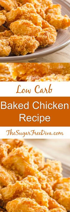 This is the recipe for low carb chicken that is baked and not fried. The perfect meal idea for dinner, lunch, picnics, tailgaits and more. Summer, fall, winter, and spring, lunch box, back to school. So easy to make too!