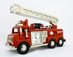 Firetruck Timepiece