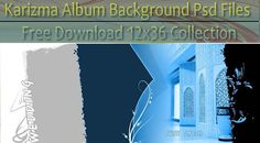 Karizma Album Background Psd Files Free Download 12x36 Collection