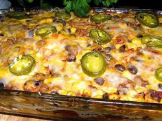 Now You Can Pin It!: Mexican Beef Casserole