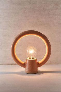 Slide View: 4: Ayo Ceramic Circle Table Lamp