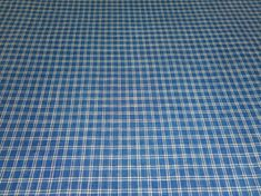 Antique Indigo Blue Homespun Plaid   2 Available  29 x 20/""