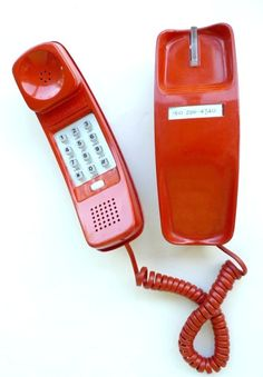 That newfangled push button phone =)