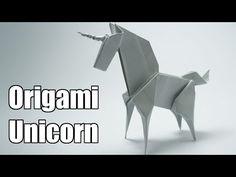 Origami Einhorn | Kotzendes Einhorn