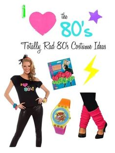 Totally Rad 80's Cos