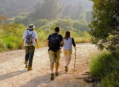 Guided Hikes in the Ojai Valley // Enjoy a healthy and scenic adventure through the local trails of Ojai or the Los Padres National Forest with an Ojai Valley Inn & Spa's expert guides.