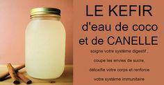 Le kéfir d'eau de coco peut aider à guérir l'intestin, améliorer la fonction…