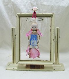 Assemblage Art Doll Vintage Fairy Kewpie by RanchDressingOnline - IN  PRIVATE COLLECTION