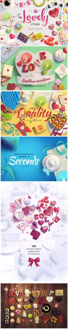 Lovely Items Scene Creator