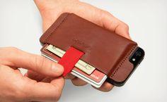 De Wally iPhone Wallet: een portemonnee voor op je iPhone