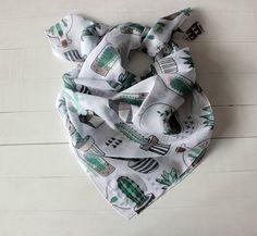 MOTHERS DAY GIFT Cactus bandana scarf Hipster scarf by olibastiani
