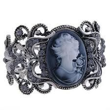 I do not own a cameo bracelet, which is odd.  I think I'd like this one...