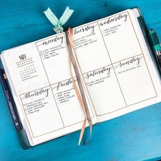 Try a calendar journal this year.