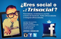 #trisocializate tío! ;-) Twitter, Instagram, Hilarious, Pictures