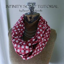 FABRIC INFINITY SCARF TUTORIAL (with a twist in the fabric)  I wish I knew how to sew! maybe @Danielle Bjorkman will make one for me!
