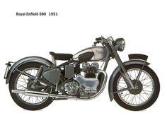 1951 Royal Enfield Bullet 500
