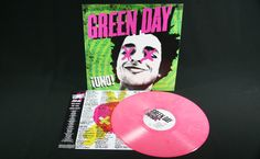 "Off the Press: Green Day - ""Uno"" LP in Pink"