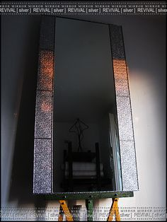 KAGADATO. Mirror - REVIVAL/silver. Total property - produced (the vast majority) with the use of technology Tiffany. Backlight, rotary mechanisms other specific hardware.