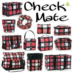 Check Mate LOVE this new plaid! so perfect for fall outings apple and/or pumpkin…