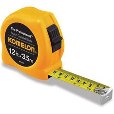 Komelon 12'/3.5m Professional Inch/Metric Tape Measure