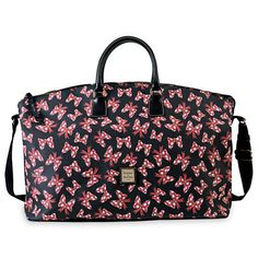 Minnie Mouse Bow Weekender Bag by Dooney & Bourke - Black  It costs way too much, but it sure is cute!