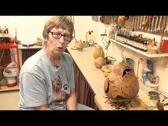 Alretta Skellenger's gourd art and interview
