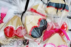 Valentine's Sugar Cookies // Rated G, PG, and PG13. hehe...love these!