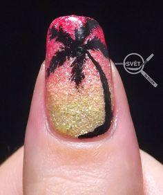 Mikrosvet by Ellen: BNA challenge Letní písková manikúra Heart Ring, Challenges, Nail Art, Nail Arts