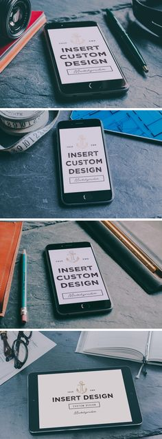 iPhone 6 & iPad Photo MockUps