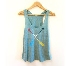 Tribal Arrows Racerback