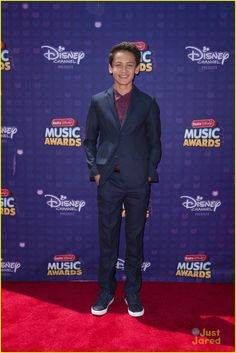 Tenzing Norgay Trainor at the Radio Disney Music Awards 2016