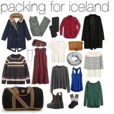 packing for iceland.. Lol or Europe in the winter?