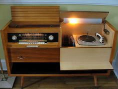 Grundig Majestic, this is actually mine and my photo, its nice to see it all over Pinterest!
