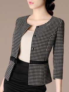 Cheap Women S Fashion Blazers Blazer Outfits, Skirt Outfits, Suit Fashion, Fashion Dresses, Corporate Attire, Jackets For Women, Clothes For Women, Dress Suits, Elegant Outfit