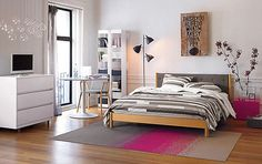 bedroom ideas for teenage girls black and white - Google Search